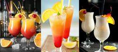 8 pysznych i prostych drinków na sylwestra! Blue Curacao, Pina Colada, Hurricane Glass, Tequila Sunrise, Food And Drink, Drinks, Tableware, Party, Aga