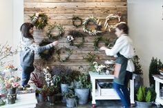 How to Quit Your Day Job and Become a Floral Designer via Brit + Co.