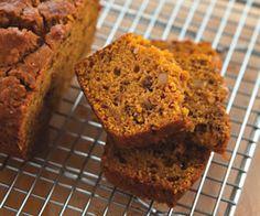 Pumpkin Bread. Gluten-Free Bread Recipes