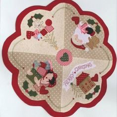 Free Red Brolly Cat Stitchery patterns::Catalicious B.O.M Quilt.