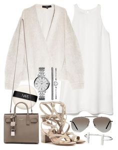 """""""Untitled #19349"""" by florencia95 ❤ liked on Polyvore featuring мода, MANGO, TIBI, NARS Cosmetics, Gianvito Rossi, Yves Saint Laurent, Tom Ford, FOSSIL и French Connection"""