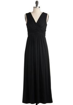 Look the Part Dress, #ModCloth. Love this style of dress. And black. Love black.