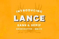 Lance Sans Serif Font