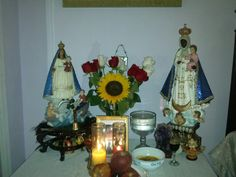 Altar for oshun.
