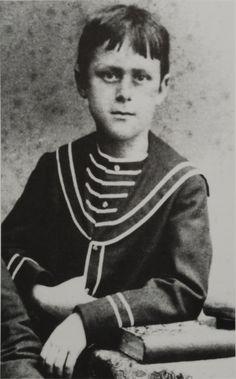 Thomas Mann war 9 Jahre alt.