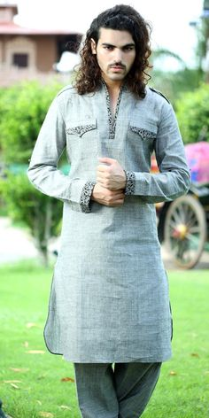 Admired Linen Pathani Suit. Item code: SKB9558