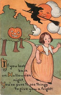 Details about Raphael Tuck Witch J-O-L Halloween Poem Rare Postcard – Halloween Ideen Retro Halloween, Halloween Poems, Image Halloween, Halloween School Treats, Vintage Halloween Images, Halloween Party Supplies, Halloween Prints, Cute Halloween Costumes, Halloween Pictures