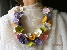 PRIMAVERA fiori multicolori in argilla polimerica. di PaTrieste su Etsy
