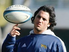 Agustin Pichot, argentina's rugby captain!