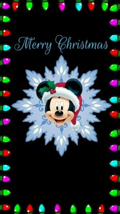 Mickey Mouse Christmas, Mickey Mouse And Friends, Mickey Minnie Mouse, A Christmas Story, Disney Mickey, Christmas Cards, Merry Christmas, Mickey Mouse Wallpaper, Disney Wallpaper