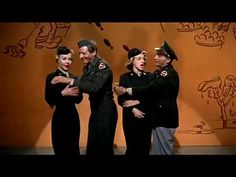 Danny Kaye & Bing Crosby - Back in The Army