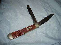 Case XX Trapper 6254 SS Folding Knife 2 Blade USA Excellent Condition FREE SHIPPING