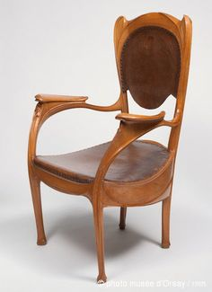 Armchair  from Castel Val, 1903 // Hector Guimard
