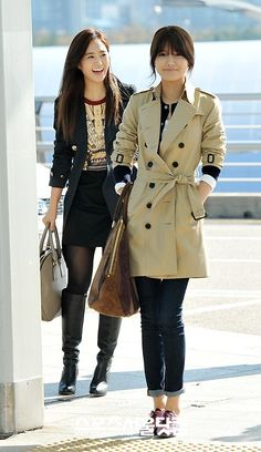Yuri & Sooyoung : 121101 Incheon Airport
