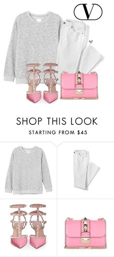 """""""Valentino pink bag! II"""" by lillyrosalie on Polyvore featuring moda, RVCA, Lands' End i Valentino"""