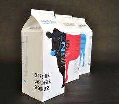 Really like the concept of how these cow illustrations wrap around the packages- also really like how each type/flavor is coloured differently. Something to consider and think about when producing my own concepts for premium range. Milk Packaging, Cool Packaging, Beverage Packaging, Bottle Packaging, Brand Packaging, Packaging Ideas, Packaging Design Inspiration, Graphic Design Inspiration, Branding Ideas