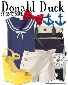 Donald Duck inspired