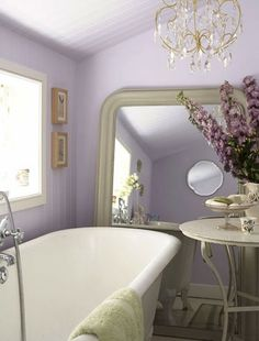 Photo Gallery For Website Lavender Bathroom Decorating Ideas Things Id like to have in my room Pinterest Lavender bathroom Lavender and Purple bathrooms