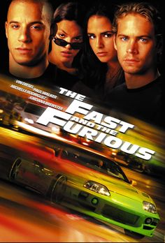 The Fast and the Furious (2001) PG-13  -  Stars: Vin Diesel, Paul Walker, Michelle Rodriguez.  -  Los Angeles police officer Brian O'Connor must decide where his loyalties really lie when he becomes enamored with the street racing world he has been sent undercover to destroy.  -  ACTION / CRIME / THRILLER