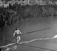 Blondin Walked Across Niagara Falls By Tightrope: Blondin On the Tightrope