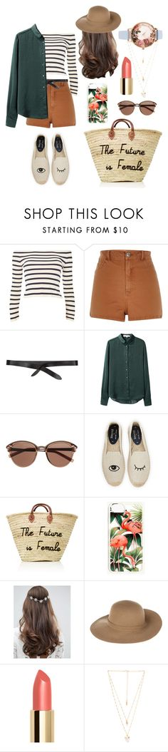 """""""Walk in the park"""" by mxgvi on Polyvore featuring Topshop, Isabel Marant, Vanessa Bruno, Witchery, Soludos, Madewell, ASOS, Armani Jeans, Natalie B and Olivia Burton"""
