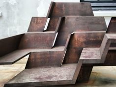 [Bogotá] Terrazas - Eduardo Ramirez Villamizar Amazing Art, Graphic Art, Stairs, Sculpture, Painting, American, Random, Design, Constructivism