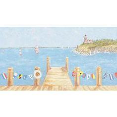 Sail Away Wall Mural- Kidding Around