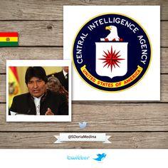Cómo se enteró Evo Morales que la CIA organizó la Red de Extorsión.  http://www.noticiasfides.com/g/opinion/jose-antonio-quiroga/la-cia-y-el-analfabetismo-funcional--3010/