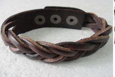Jewelry Bangle bracelet women Leather Bracelet Girl Ropes Bracelet Men Leather Bracelet 362A via Etsy