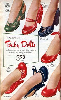 32 exemplos de Propagandas antigas. Sapatos SandáliasRoupasModa Retrô História ... 1b76555960