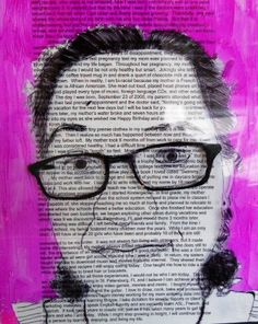 """Kim Carlson """"Portraiture"""" Grade 8 Clearwater Arts Alliance-March is Youth Art Month K-8"""