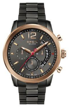 Breil 'Miglia' Chronograph Bracelet Watch, 44mm   Nordstrom