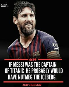Ray Hudson commentary on messi is always best ❤❤. Cristiano Messi, Lional Messi, Messi Soccer, Soccer Memes, Soccer Quotes, Football Memes, Funny Soccer, Neymar, Lionel Messi Quotes