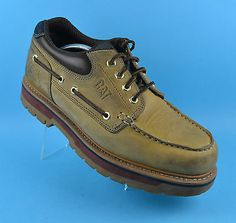 cd9fd3f65c17f Caterpillar  marine power mens  handsewn boat deck leather  shoes size 12  uk 46