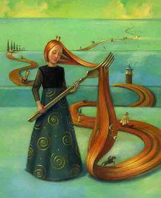 Henriette Sauvant – Ilustrações | Costela de Adão