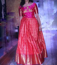 Sleeves Designs For Dresses, Fancy Blouse Designs, Designer Anarkali Dresses, Designer Dresses, Long Frocks For Kids, Latest Gown Design, Party Wear Long Gowns, Indian Designer Outfits, Indian Outfits