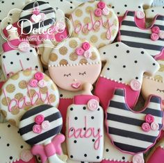 Dolce:  Kate Spade inspired Baby Shower