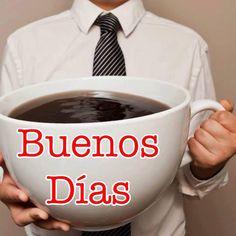 Buenos Días con ésta enorme taza de café...