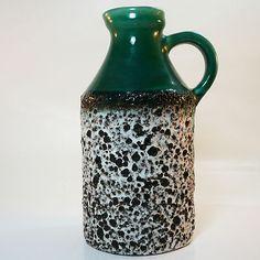 Fat Lava Vase • Marei • Rare • Mid Century • Modernist Style • mint condition