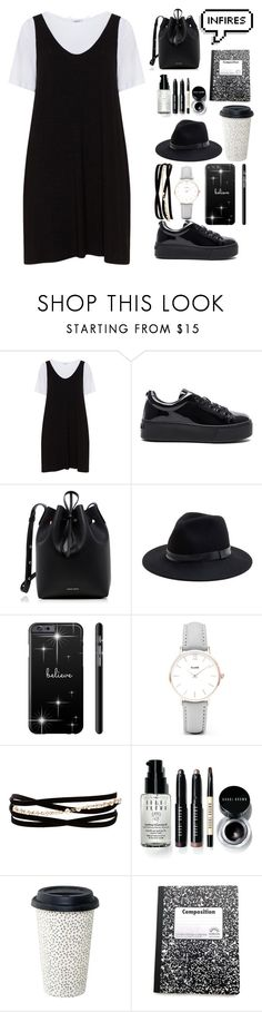 """bts Rap Monster style girl."" by laysa-de-oliveira-leite on Polyvore featuring Zizzi, Kenzo, Mansur Gavriel, Sole Society, CLUSE, Kenneth Jay Lane, Bobbi Brown Cosmetics and plus size dresses"