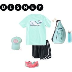 Disney World in a couple of weeks by morganwagner32 on Polyvore featuring NIKE, Kate Spade, Vineyard Vines, CamelBak, Disney and Kavu