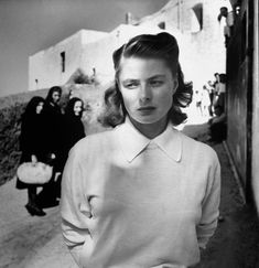 "Ingrid Bergman in ""Stromboli terra di Dio"" - Roberto Rossellini"