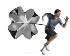 Wind Air Resistance Training Parachute