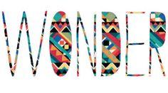 Creative typography images on Designspiration Typography Letters, Typography Design, Typography Wallpaper, Typography Logo, Illustrations, Illustration Art, Diy Tumblr, To Infinity And Beyond, Favim