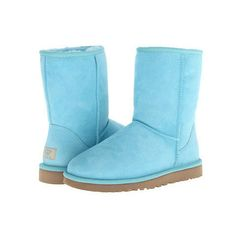 UGG Classic Short ($155.00) #outfits  ugg boots with bows my fav color