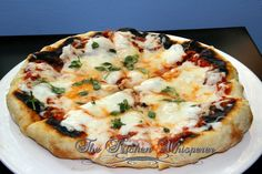 The Kitchen Whisperer Indoor Grilled Traditional Pizza