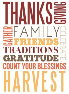 A variety of autumn and thanksgiving FREE subway art printables.