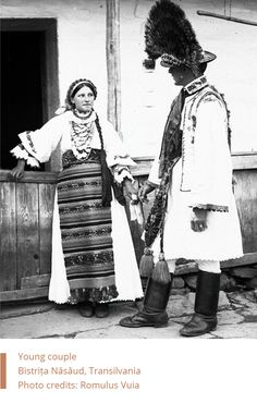 Folk Costume, Costumes, Folk Clothing, Young Couples, Traditional Dresses, Romania, Wearable Art, The Incredibles, Culture