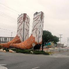 World's Biggest Cowboy Boots