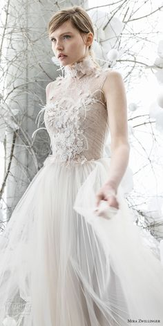 mira zwillinger 2018 bridal sleeveless illusion jewel sweertheart neckline heavily embellished bodice tulle skirt romantic a line wedding dress (pipa) mv -- Mira Zwillinger 2018 Wedding Dresses wedding dresses 2018 Butter Cookies Stunning Wedding Dresses, Wedding Dresses 2018, Bridal Dresses, Flower Girl Dresses, Wedding Dress With Feathers, Zombie Prom Queen Costume, Boho Vintage, Elegant Bride, Tulle Dress